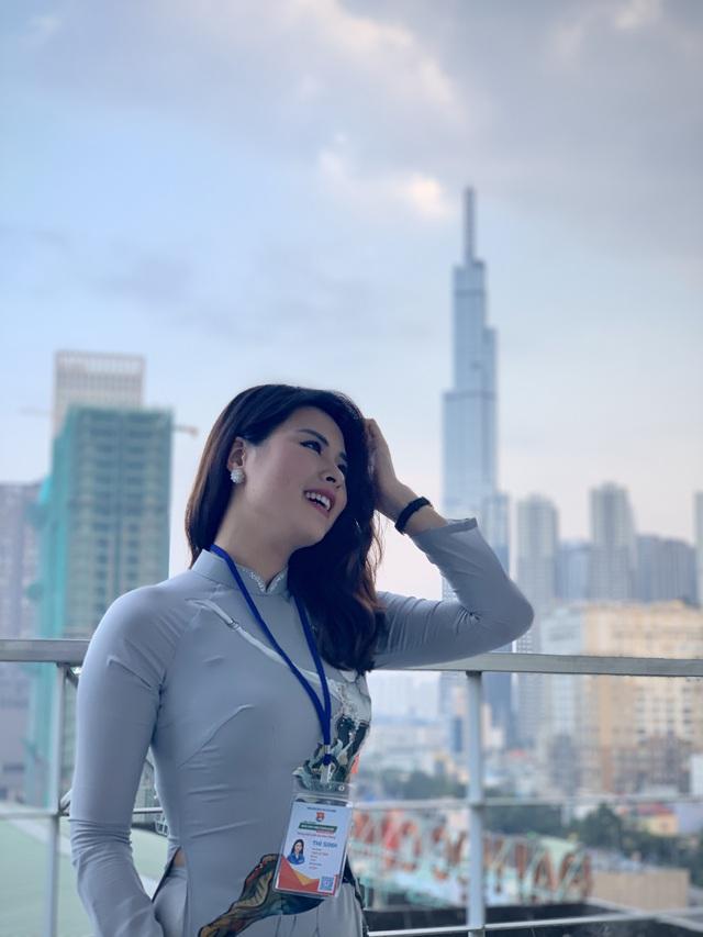 MC Phan Trang: Dù ở vai trò nào, tôi luôn cố gắng hoàn thành tốt mọi nhiệm vụ được giao - Ảnh 3.