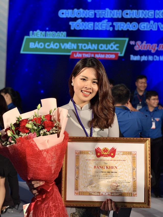 MC Phan Trang: Dù ở vai trò nào, tôi luôn cố gắng hoàn thành tốt mọi nhiệm vụ được giao - Ảnh 2.