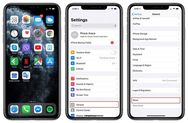 Hướng dẫn cách khôi phục cài đặt gốc trên iPhone - Ảnh 1.
