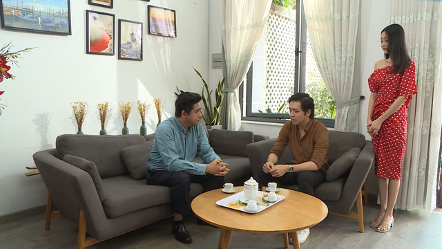 Huỳnh Anh Tuấn trở lại với vai diễn sở trường ông bố khó tính trong Chàng rể hờ - Ảnh 4.