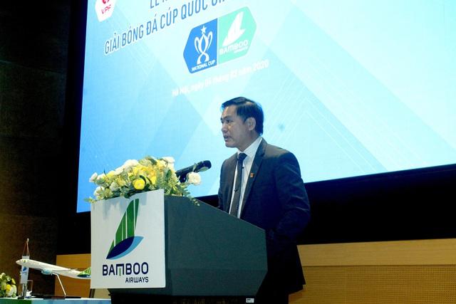 Ký kết nhà tài trợ chính giải bóng đá Cúp Quốc gia Bamboo Airways 2020 - Ảnh 2.