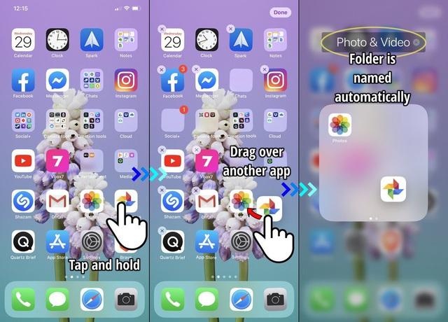 Cách tạo thư mục cho ứng dụng trên iPhone và iPad - Ảnh 1.