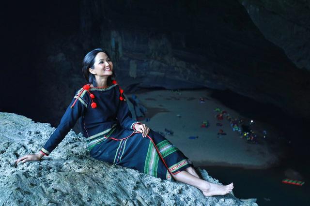 Chiêm ngưỡng bộ ảnh đặc biệt của Hoa hậu HHen Niê tại hang Sơn Đoòng - Ảnh 12.