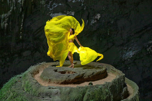 Chiêm ngưỡng bộ ảnh đặc biệt của Hoa hậu HHen Niê tại hang Sơn Đoòng - Ảnh 9.