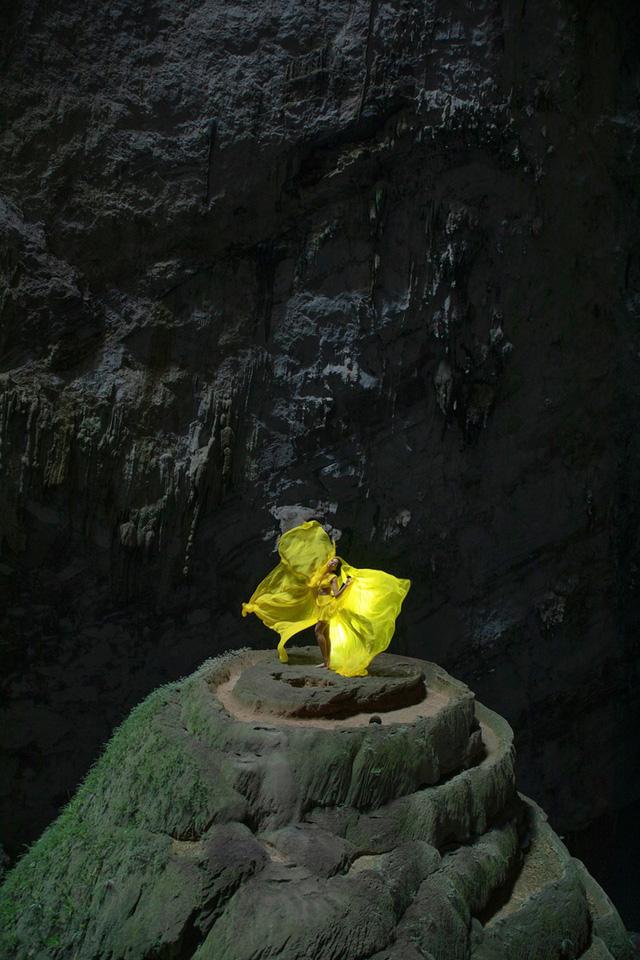Chiêm ngưỡng bộ ảnh đặc biệt của Hoa hậu HHen Niê tại hang Sơn Đoòng - Ảnh 10.