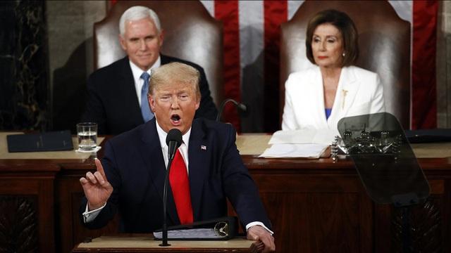 Tổng thống Trump đọc Thông điệp Liên bang nhấn mạnh sự trở lại của nước Mỹ vĩ đại - Ảnh 1.