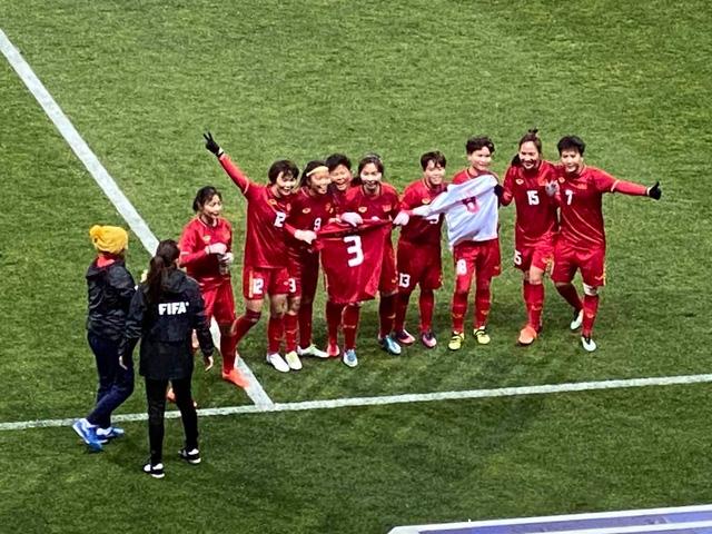 ĐT nữ Việt Nam chính thức giành vé đá play-off Olympic Tokyo 2020 - Ảnh 4.