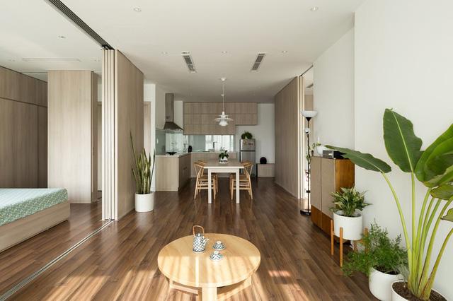 Cải tạo căn hộ 78m2 thành không gian sống linh hoạt - Ảnh 2.