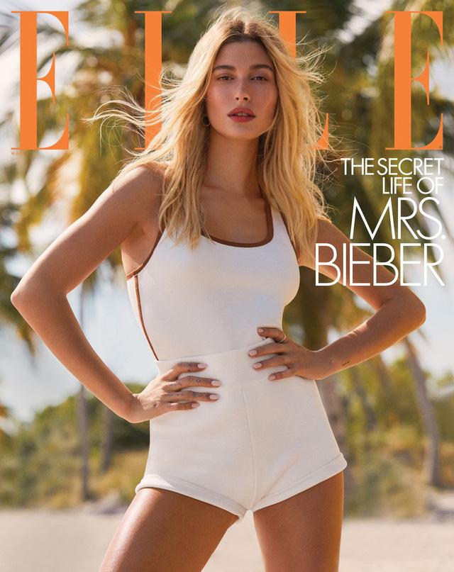 Vợ Justin Bieber thả dáng đẹp rạng ngời trên Elle - Ảnh 9.
