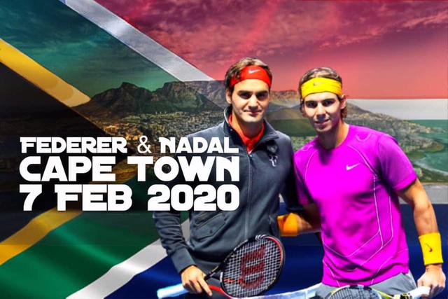 Những thống kê về trận đấu vì châu Phi giữa Roger Federer và Rafael Nadal - Ảnh 1.
