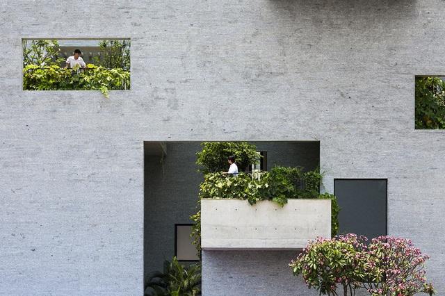Nhà có nhiều ban công độc đáo, kết nối với thiên nhiên - Ảnh 3.