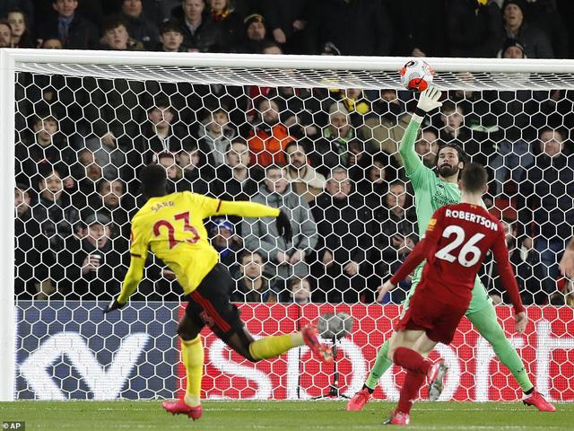 Liverpool thua sốc trước Watford - Ảnh 1.