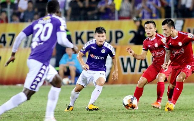 VPF họp trực tuyến với các đội bóng V.League - Ảnh 1.