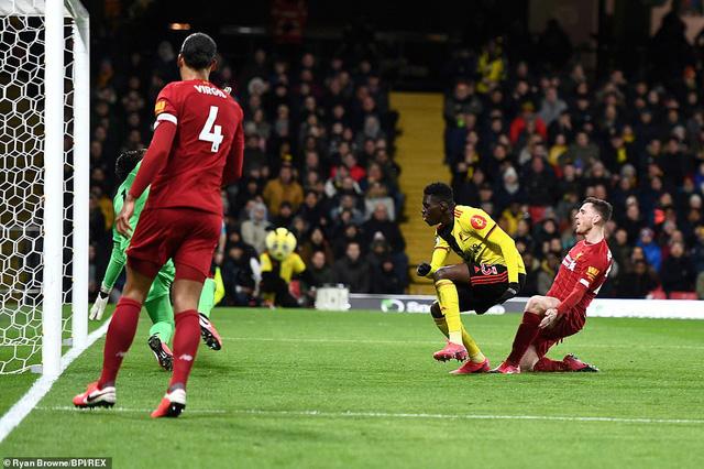 Liverpool thua sốc trước Watford - Ảnh 2.