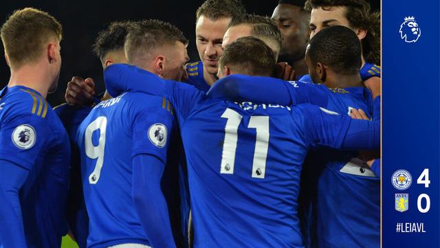 Leicester City 4-0 Aston Villa: Thắng đậm, Leicester củng cố ngôi vị thứ 3 Ngoại hạng Anh - Ảnh 5.