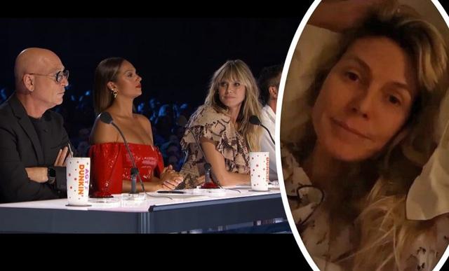 Siêu mẫu Heidi Klum lo lắng vì không thể xét nghiệm COVID-19 - Ảnh 1.