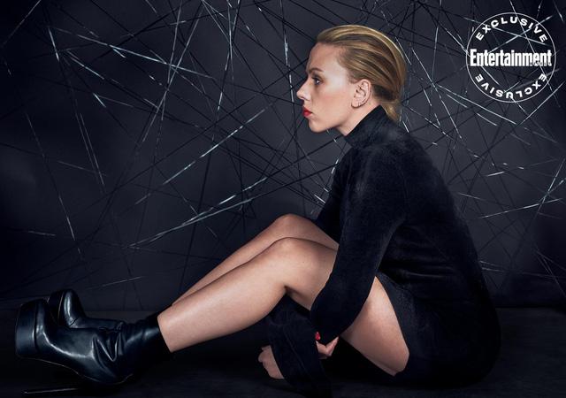 Scarlett Johansson mạnh mẽ và dữ dội trên ấn phẩm tháng 3 - Ảnh 4.