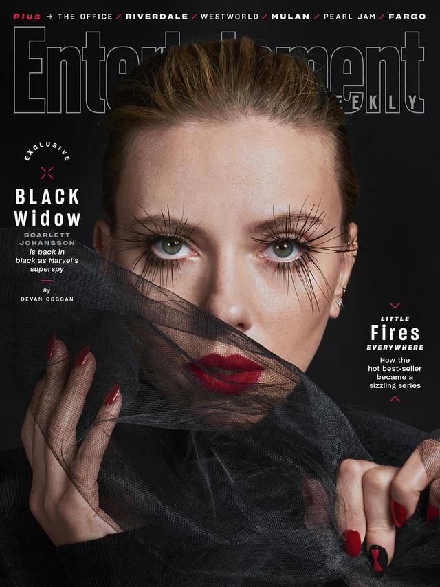 Scarlett Johansson mạnh mẽ và dữ dội trên ấn phẩm tháng 3 - Ảnh 3.
