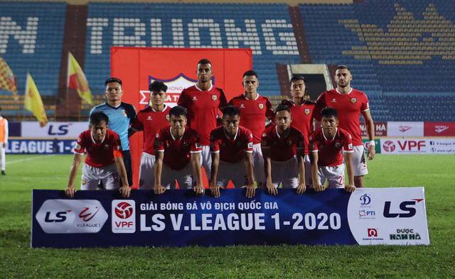 ẢNH: DNH Nam Định giành 3 điểm trước Hồng Lĩnh Hà Tĩnh - Ảnh 3.