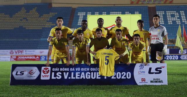 ẢNH: DNH Nam Định giành 3 điểm trước Hồng Lĩnh Hà Tĩnh - Ảnh 2.