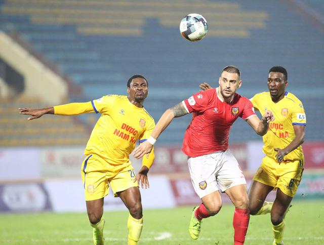 ẢNH: DNH Nam Định giành 3 điểm trước Hồng Lĩnh Hà Tĩnh - Ảnh 9.