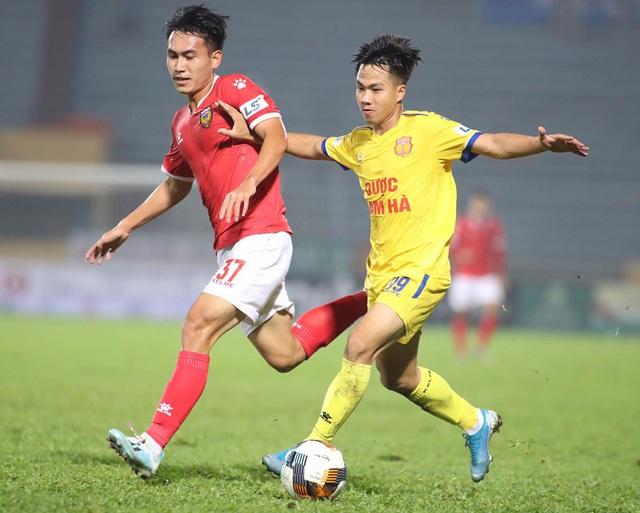 ẢNH: DNH Nam Định giành 3 điểm trước Hồng Lĩnh Hà Tĩnh - Ảnh 8.