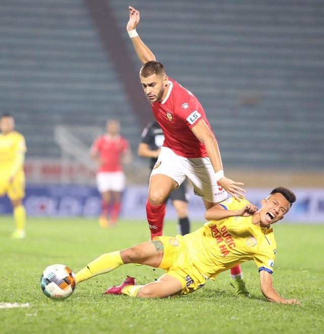 ẢNH: DNH Nam Định giành 3 điểm trước Hồng Lĩnh Hà Tĩnh - Ảnh 7.