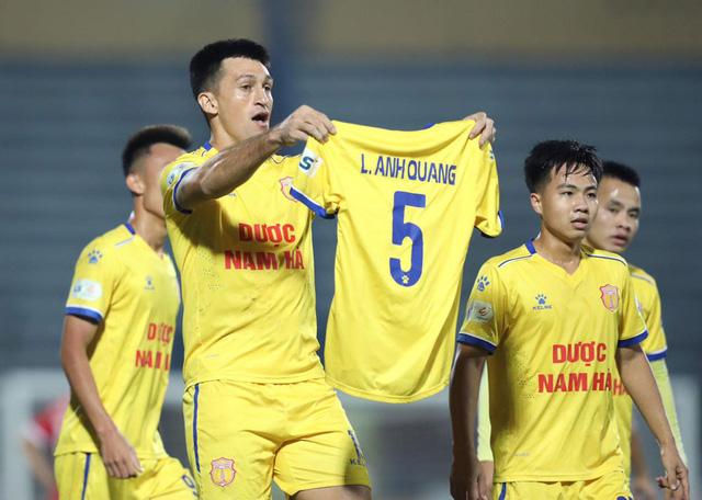 ẢNH: DNH Nam Định giành 3 điểm trước Hồng Lĩnh Hà Tĩnh - Ảnh 10.