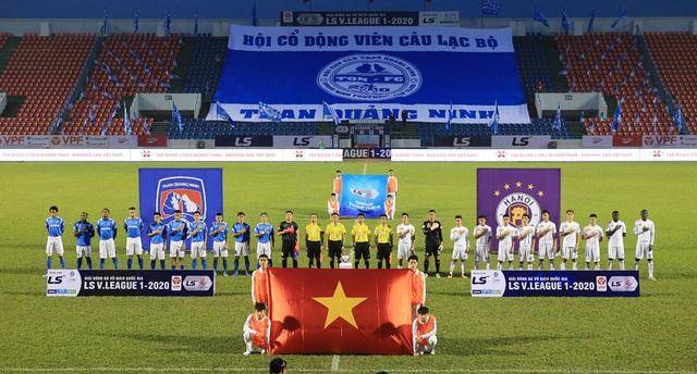 ẢNH: ĐKVĐ CLB Hà Nội nhận thất bại trong chuyến làm khách trước Than Quảng Ninh - Ảnh 3.