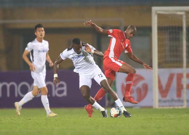 ẢNH: Viettel hòa Hoàng Anh Gia Lai trong trận cầu mưa bàn thắng - Ảnh 11.