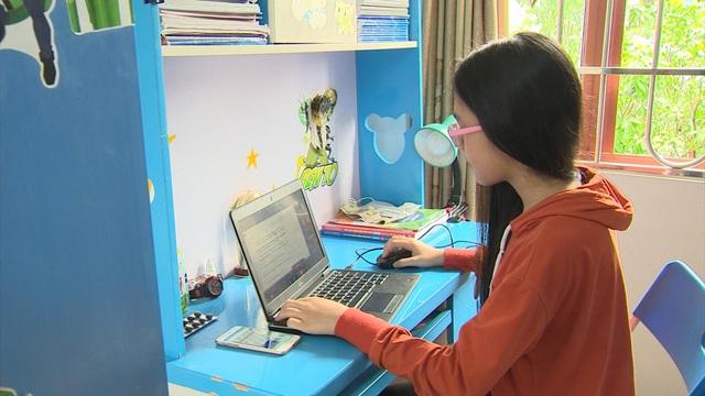 Hà Nội: Cấm các trường thu phí học online mùa dịch COVID-19 - Ảnh 1.