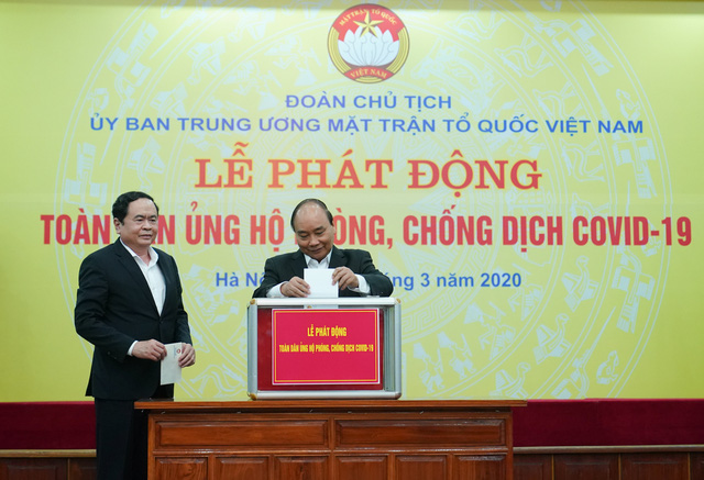 Thủ tướng kêu gọi tinh thần tương thân tương ái trong phòng, chống dịch COVID-19 - Ảnh 1.