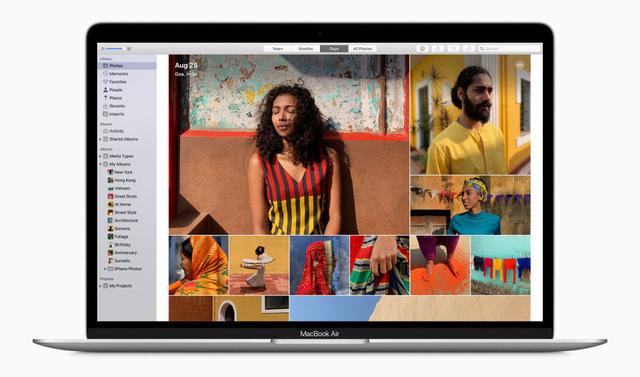 MacBook Air 2020: Chip Intel thế hệ thứ 10, bàn phím cắt kéo, giá từ 999 USD - Ảnh 1.