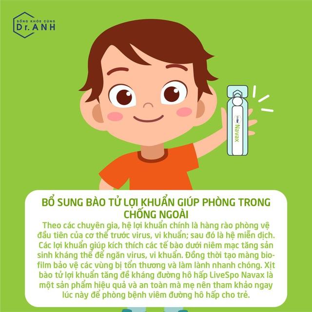 Hiểu đúng về viêm đường hô hấp trên của trẻ để xử lý đúng cách - Ảnh 7.