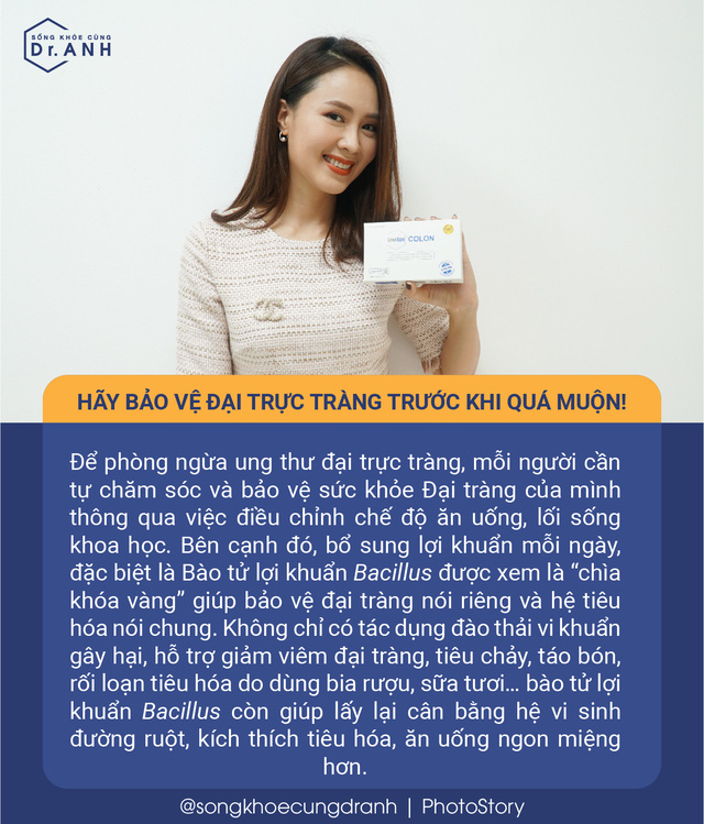 5 quan niệm sai lầm về ung thư đại trực tràng nhiều người Việt mắc phải - Ảnh 6.