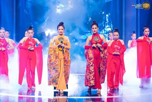Loạt đồ đôi tuyệt đẹp của Thu Hoài - Dương Hoàng Yến trong Trời sinh một cặp - Ảnh 6.