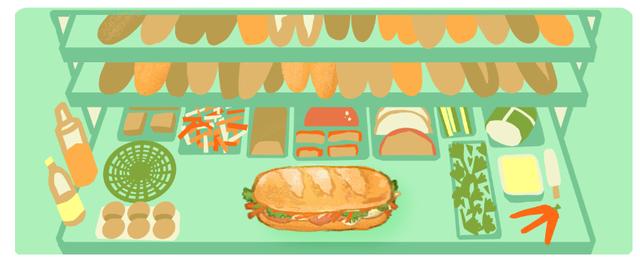 Google nói gì về việc chọn bánh mì Việt Nam làm doodle mới? - Ảnh 7.