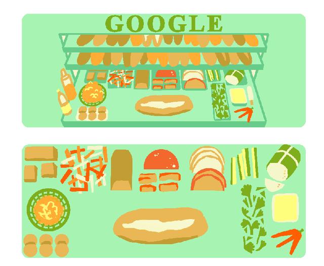Google nói gì về việc chọn bánh mì Việt Nam làm doodle mới? - Ảnh 6.