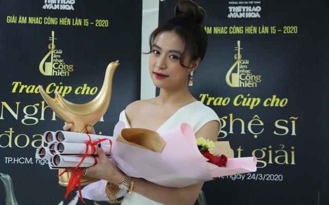 Giải Cống hiến 2020: Hoàng Thùy Linh giành cú ăn bốn, Tân Nhàn thắng Chương trình của năm - Ảnh 1.