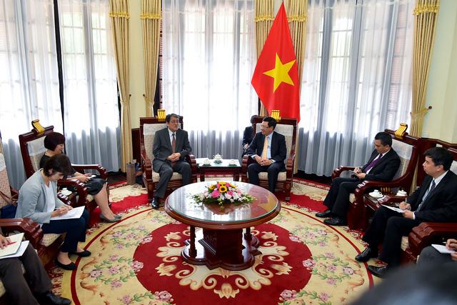 Phó Thủ tướng Phạm Bình Minh trao Huân chương Hữu nghị cho Đại sứ đặc mệnh toàn quyền Nhật Bản - Ảnh 6.