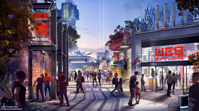 Đại dịch COVID-19, Disney tạm dừng xây dựng công viên Avengers - ảnh 1