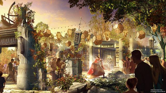 Đại dịch COVID-19, Disney tạm dừng xây dựng công viên Avengers - ảnh 2