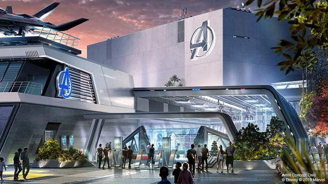 Đại dịch COVID-19, Disney tạm dừng xây dựng công viên Avengers - ảnh 3