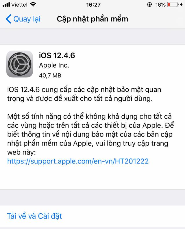 Người dùng iPhone 5S, iPhone 6/6 Plus cần phải biết điều này! - ảnh 1