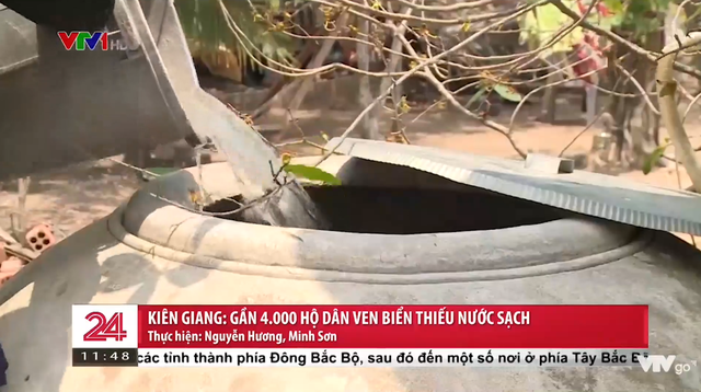 """Gần 4.000 hộ dân ven biển Kiên Giang vẫn """"khát"""" nước sạch - Ảnh 1."""
