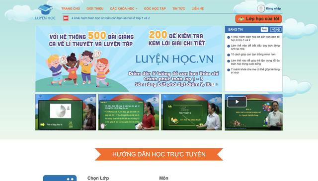 Luyện Học online chương trình toán hiệu quả cho học sinh tiểu học - Ảnh 1.