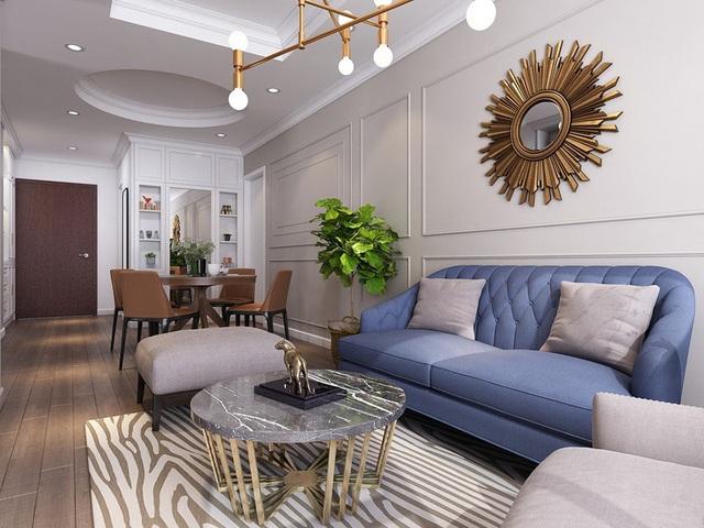 Mục sở thị căn hộ 30m2 mang phong cách tân cổ điển sang trọng - Ảnh 3.