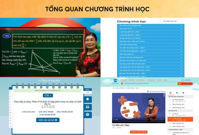 Luyện Học online chương trình toán hiệu quả cho học sinh tiểu học - Ảnh 3.
