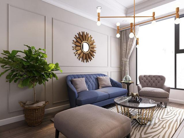 Mục sở thị căn hộ 30m2 mang phong cách tân cổ điển sang trọng - Ảnh 4.
