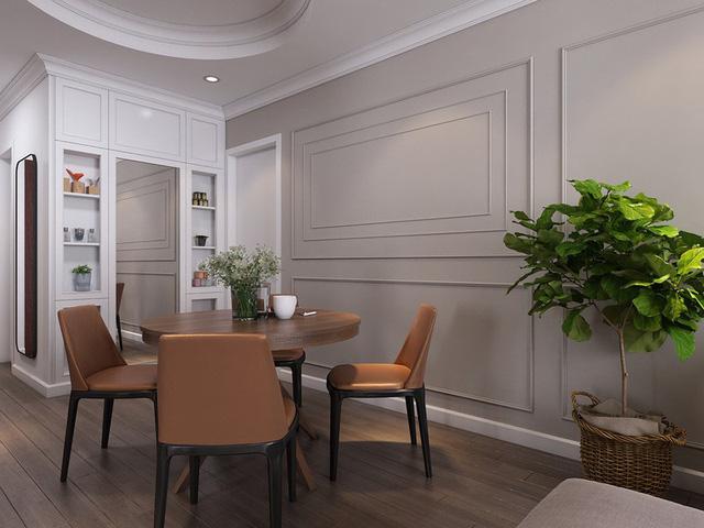 Mục sở thị căn hộ 30m2 mang phong cách tân cổ điển sang trọng - Ảnh 5.